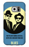 Blues Poster 2 Galaxy S6 Case by Anna Malkin