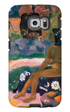Her Name is Vairaumati Galaxy S6 Edge Case by Paul Gauguin