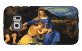 The Virgin and Child Galaxy S6 Edge Case by  Titian