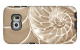 White Swirls Galaxy S6 Edge Case by Doug Chinnery