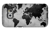 World  Map 8 Galaxy S6 Edge Case by  NaxArt