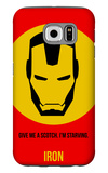 Iron Poster 1 Galaxy S6 Case by Anna Malkin