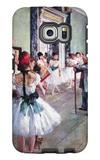 The Dance Class Galaxy S6 Edge Case by Edgar Degas