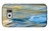Late Afternoon Light and Merced River Abstract Galaxy S6 Case by Vincent James