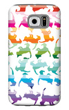 Sunset Kittens Galaxy S6 Case by  Avalisa