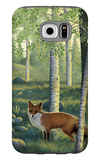 Fox in the Forest Galaxy S6 Case