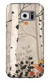 Birch Damask Galaxy S6 Case by Melissa Pluch