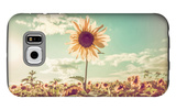 One Sunflower Rising above the Rest Galaxy S6 Case by  soupstock