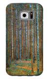 Tannenwald (Pine Forest), c.1902 Galaxy S6 Case by Gustav Klimt
