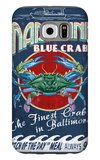 Baltimore, Maryland - Blue Crabs Galaxy S6 Case by  Lantern Press