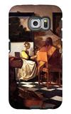 Musical Trio Galaxy S6 Edge Case by Jan Vermeer