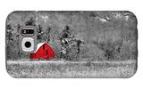 Red Barn Galaxy S6 Case by  dbriyul
