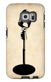 Vintage Microphone Galaxy S6 Edge Case by  NaxArt