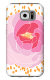 Pink Peony Galaxy S6 Case by  Avalisa