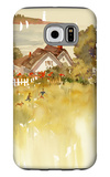 Coastal Houses Galaxy S6 Case