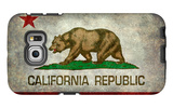 California State Flag With Distressed Treatment Galaxy S6 Edge Case by Bruce stanfield