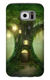 Fantasy Tree House Galaxy S6 Case by  egal