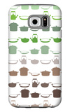 Brown Post and Pans Galaxy S6 Case by  Avalisa