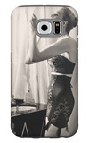 Lipstick Reflections Galaxy S6 Case by Frances Pellegrini