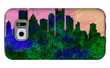 Pittsburgh City Skyline Galaxy S6 Case by  NaxArt