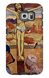 Yellow Christ Galaxy S6 Edge Case by Paul Gauguin