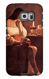Magdalen with the Smoking Flame Galaxy S6 Edge Case by Georges de La Tour