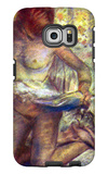 Kneeling Woman Galaxy S6 Edge Case by Edgar Degas