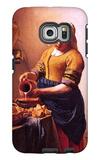 Milk Maid Galaxy S6 Edge Case by Jan Vermeer