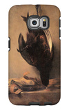 Still Life with Dead Pheasant and Hunting Bag Galaxy S6 Edge Case by Jean-Baptiste Simeon Chardin