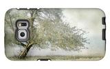 Tree in Field of Flowers Galaxy S6 Edge Case by Mia Friedrich