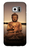 Golden Buddha Lakeside Galaxy S6 Case by Jan Lakey