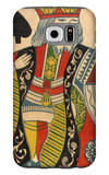 King of Spades Card Galaxy S6 Case