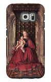 The Virgin and Child Galaxy S6 Edge Case by Jan Van Eyck