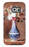 Flowers in a Vase Galaxy S6 Edge Case by Jean-Baptiste Simeon Chardin