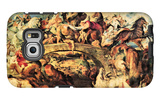Amazon Battle Galaxy S6 Edge Case by Peter Paul Rubens