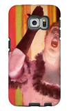 The Singer with the Glove Galaxy S6 Edge Case by Edgar Degas