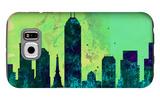 Indianapolis City Skyline Galaxy S6 Case by  NaxArt