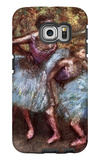 Four Dancers Behind the Scenes Galaxy S6 Edge Case by Edgar Degas