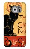 Tournee du Chat Noir, c.1896 Galaxy S6 Case by Théophile Alexandre Steinlen