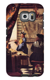 The Allegory of Painting Galaxy S6 Edge Case by Jan Vermeer