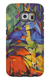 Deer in Forest Galaxy S6 Edge Case by Franz Marc