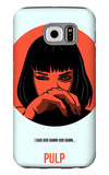 Pulp Poster 2 Galaxy S6 Case by Anna Malkin