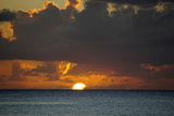 Sunset, St. Kitts and Nevis, Leeward Islands, West Indies, Caribbean, Central America Photographic Print by Robert Harding