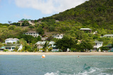 Oualie Beach Hotel, Nevis, St. Kitts and Nevis Photographic Print by Robert Harding