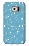 Abstract Geometrical Background Galaxy S6 Case by  lolya1988