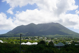 Mount Nevis, Nevis, St. Kitts and Nevis, Leeward Islands, West Indies, Caribbean, Central America Photographic Print by Robert Harding