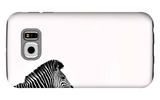Zebra Isolated Galaxy S6 Case by  Donvanstaden