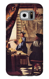 The Allegory of Painting Galaxy S6 Case by Jan Vermeer