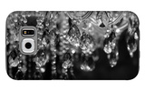 Chrystal Chandelier Close-Up. Glamour Background With Copy Space Galaxy S6 Case by Dasha Petrenko