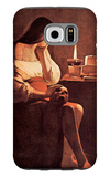 Magdalen with the Smoking Flame Galaxy S6 Case by Georges de La Tour